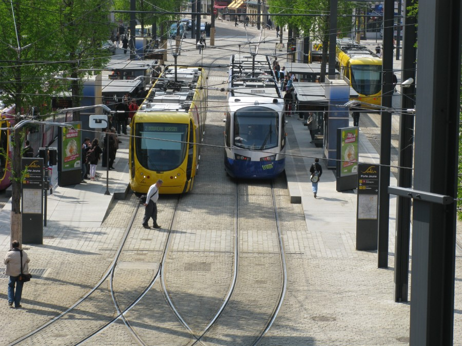 tram et train- tram à mulhouse